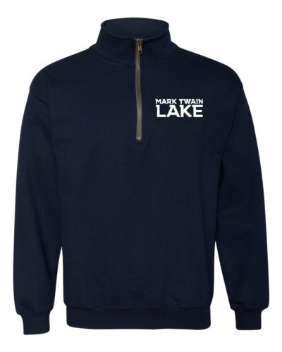 Mark Twain Lake 1/4 zip Pullover