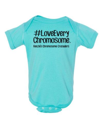#LoveEveryChromosome® onesie