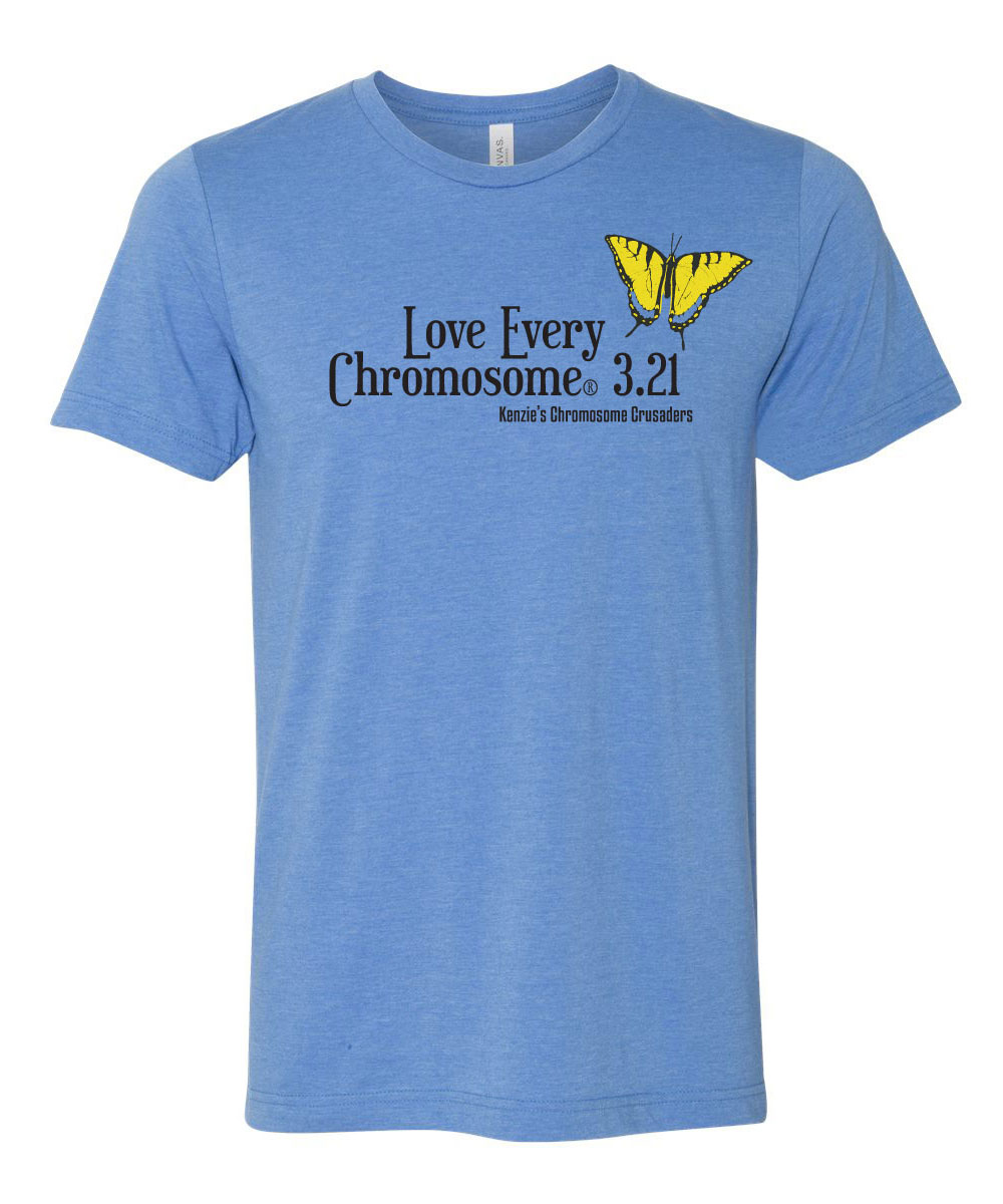 3df4337de9d44 Adult T-Shirt World Down Syndrome Day | Salt River Shirt Company