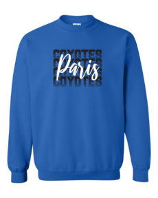 Paris Coyotes Crewneck